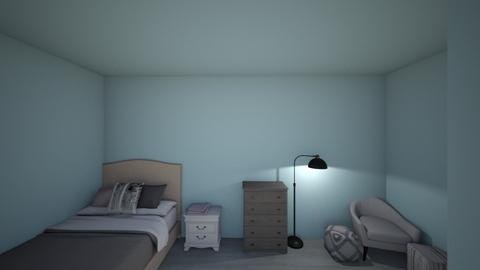 aesthetic modern bedroom - Modern - Bedroom  - by HanaCloudy
