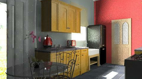 Norley Kitchen2 - Country - Kitchen  - by K_White