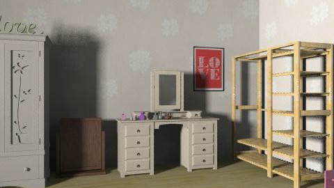 dream bedroom - Country - Bedroom  - by 22bob22