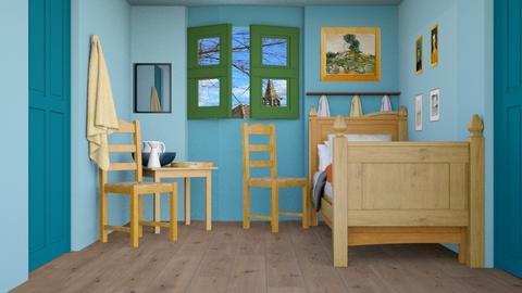Van Gogh - Bedroom  - by iope