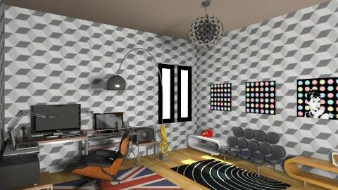 studio room - Eclectic - Office  - by deedy saleh