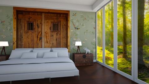 Bertin Osborne - Country - Bedroom  - by Elenny