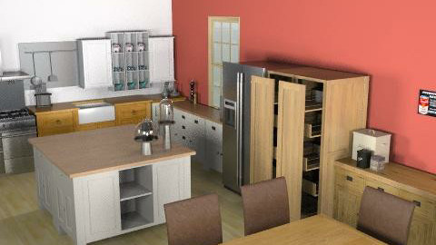 Cocina - Rustic - Kitchen  - by belta