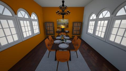Autumn - Classic - Dining room - by Lena2020