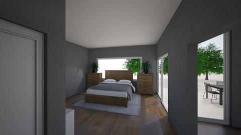 modern wood work open lay - by alissawernz