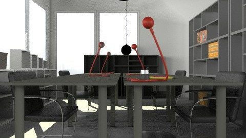 Resources Room2 - Minimal - Office  - by Monna Lisa