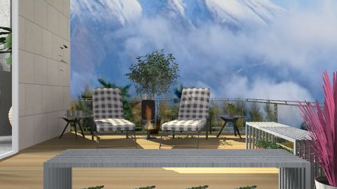 Outdoor1 - Modern - Garden  - by deleted_1524682245_beverly_jb