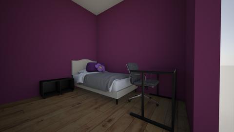 futuro cuarto - Bedroom  - by yesikyu