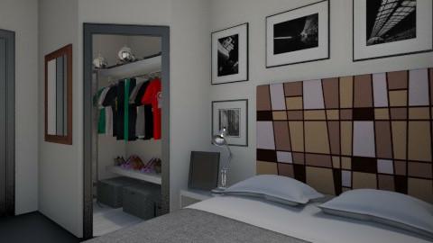 Nakagi Capsule Bedroom - Modern - Bedroom  - by HGranger2