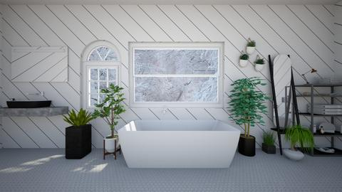 Remixed Plant based bath - Bedroom  - by ChayGerard