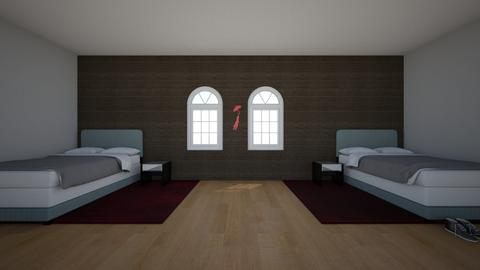 guest room  - Modern - Bedroom  - by Madi_with_a_I