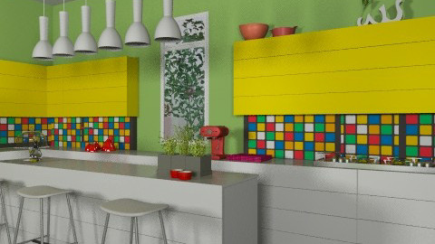 mosaic - Modern - Kitchen  - by dominicjames