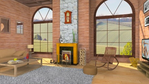 Countryside Living Room - Classic - Living room  - by GeorgiosPap