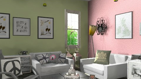 a place for Jane - Retro - Living room  - by decorj