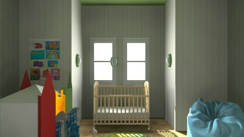 Nursery - Eclectic - Kids room  - by Cortney Reed_711