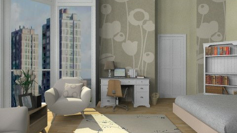 Designer Bedroom - Modern - Bedroom  - by cheyjordan