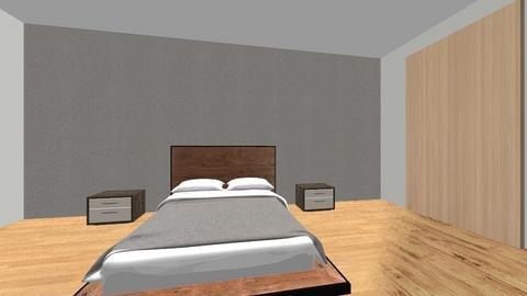 Project - Minimal - Bedroom  - by Mariama Traore