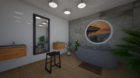 Bali remix - Bathroom  - by hannahelise