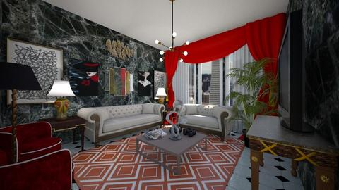 Art Deco Living - Living room  - by SammyJPili