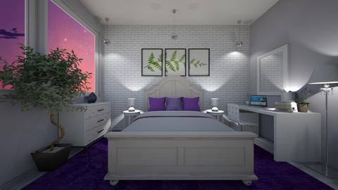 _The Perfect Rug_ - Bedroom  - by Hersheys