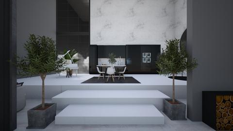 _s t o r m y_2_ - Modern - Living room  - by Marlisa Jansen