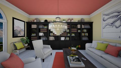 pastel - Living room - by sissybee