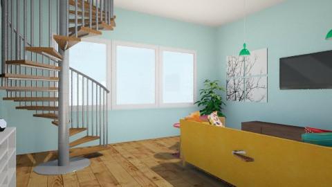 Modern Retro - Retro - Living room  - by emilybryant