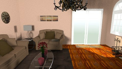 Brown - Country - Living room - by 89dudes