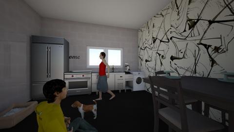 Kuhinja - Kitchen  - by MatejaVukosavljevic