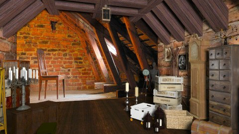 Spooky Attic  - Vintage - by deleted_1566988695_Saharasaraharas