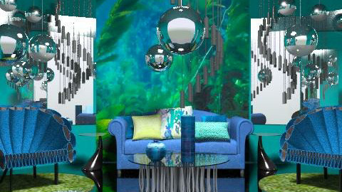 deep water - Eclectic - Living room  - by chania