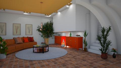 orange and white - by ilcsi1860
