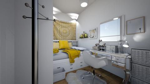 Dorm Room - Modern - by haileymilby