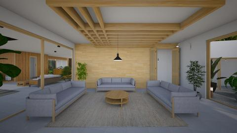Zen_living room - Living room  - by lovasemoke