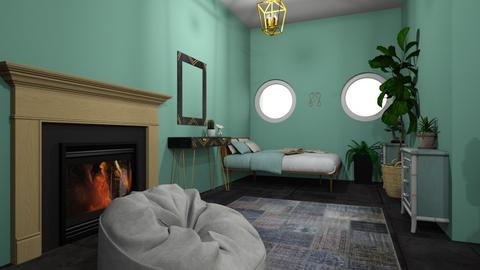 green house - Vintage - Bedroom  - by husana74a