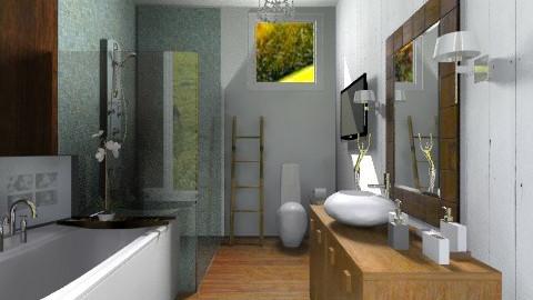 Love luxe baths  - Modern - Bathroom  - by sahfs