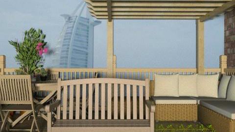 At Dubai House's Garden3 - Classic - Garden - by pelin1996