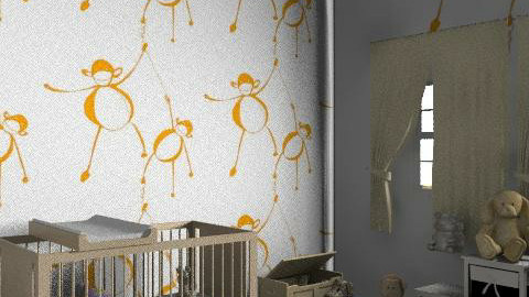 Monkey - Classic - Kids room  - by Pondi1985