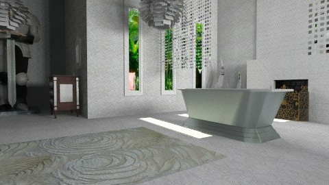 ModernBathroom1 - Eclectic - Bathroom - by anetzham