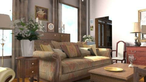 Classic living room - Classic - Living room  - by milyca8
