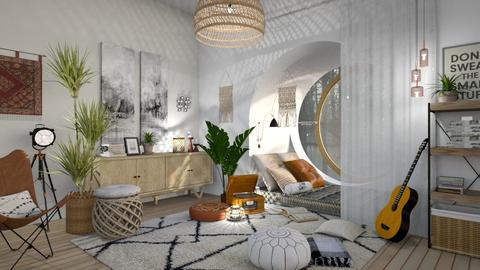 Reading Nook - Eclectic - Living room  - by deleted_1587966089_ArcticMoon