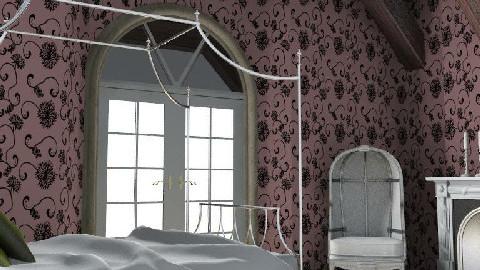 4525 - Bedroom - by gingerpantz