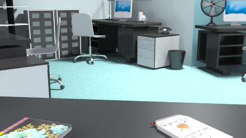 MyHomeOffice - Modern - Office  - by decorj