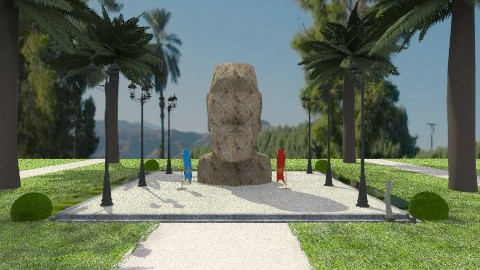 Hawaiian Monument - Modern - Garden - by yourjieee