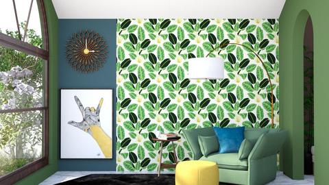 Statement Wall - Office  - by collin1024