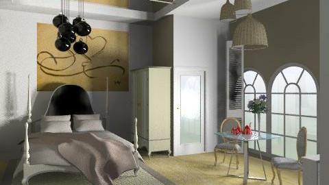 honeyroom1 - Classic - Bedroom  - by calu13