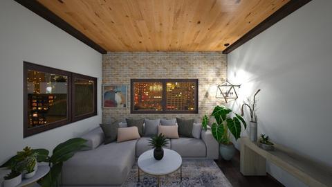 N Y C - Living room  - by H A L O