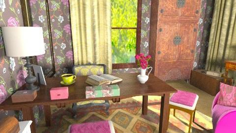 brown - Vintage - Office  - by bisertanya