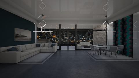 145 Central Park W Apt 12C - Living room  - by sfurkan