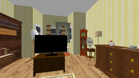 living room (not ready) - Vintage - Living room  - by JesseMolenkamp